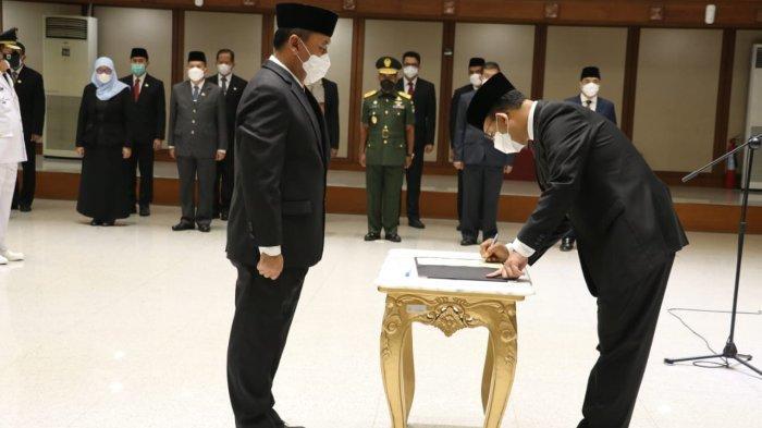 Gubernur DKI Jakarta Anies Baswesdan lantik pejabat baru