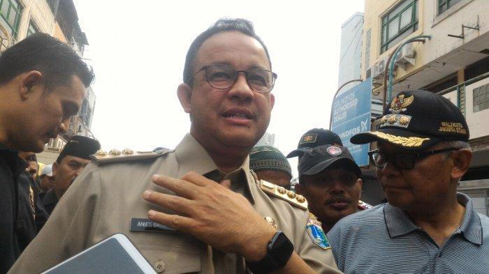 Anies Baswedan Sebut Stok Kebutuhan Pokok di DKI Jelang Lebaran Surplus