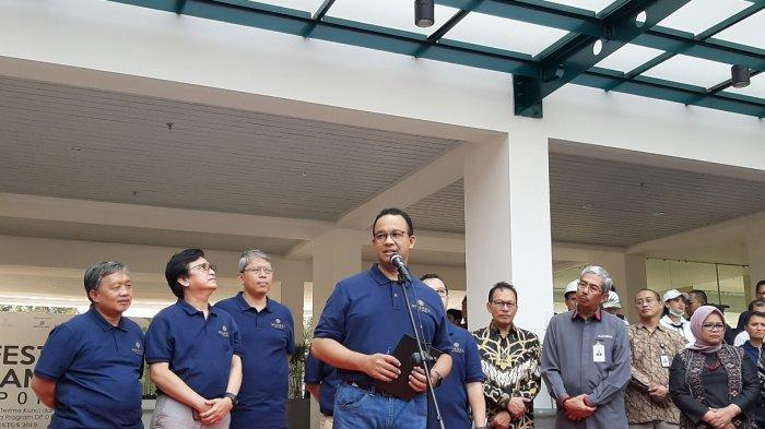 Anies Baswedan Resmikan Festival Rumah DP 0 Rupiah di Klapa Village Jakarta Timur