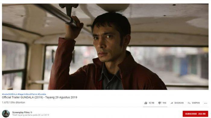 Tayang 29 Agustus 2019, Ini Sinopsis Gundala Film Superhero Tanah Air Beserta 4 Fakta Menariknya