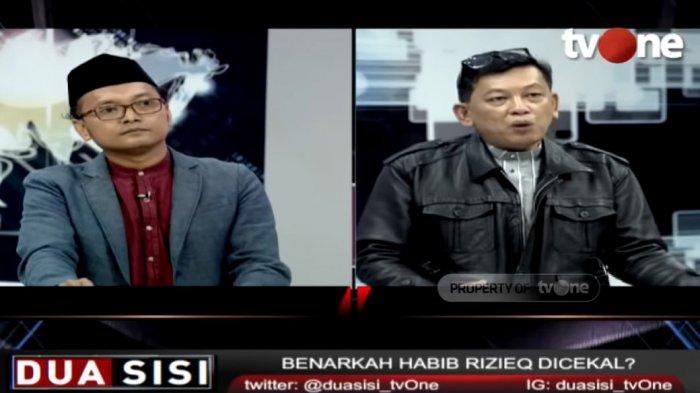 Guntur Romli Samakan Persoalan Rizieq Shihab dengan TKI, Ketua HRS Center Emosi Sampai Pukul Meja