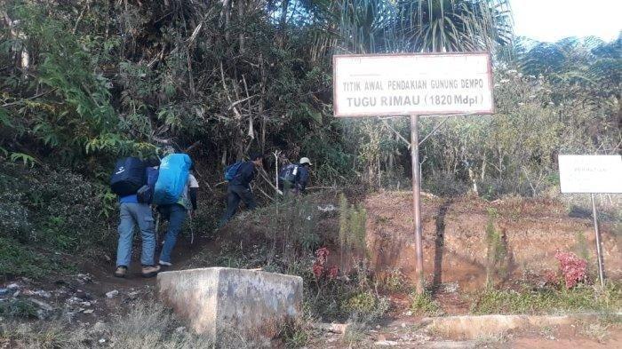 Dua Pendaki Gunung Dempo Menghilang 15 Hari, Tim Pencari Temukan Mayat