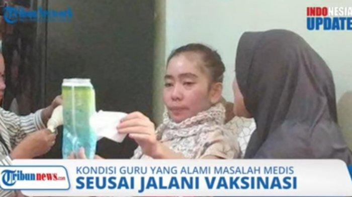 Seorang Guru di Sukabumi Alami Pendarahan hingga Lumpuh Usai Disuntik Vaksin Covid-19
