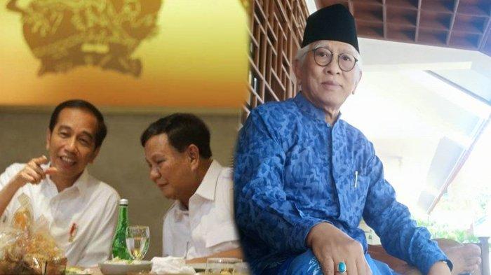 Pajang Foto Pertemuan Jokowi & Prabowo, Gus Mus Ucap Syukur dan Singgung Soal Kepentingan Golongan