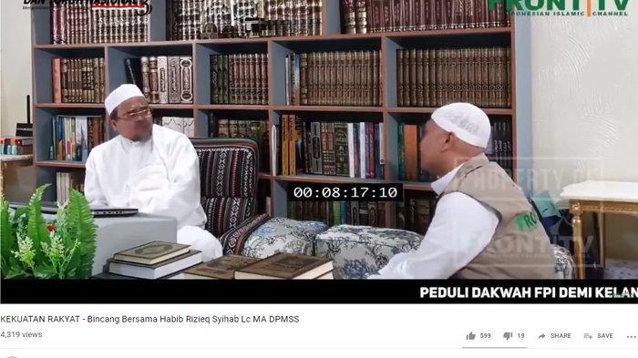 Sebut Klaim Kemenangan Prabowo Masuk Akal, Rizieq Shihab: Kenapa? Karena Dasarnya Betul-betul Kuat