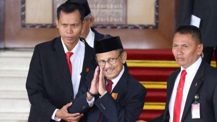 Link Live Streaming Pemakaman BJ Habibie di TMP Kalibata, Dekat Ainun Habibie dan Ani Yudhoyono