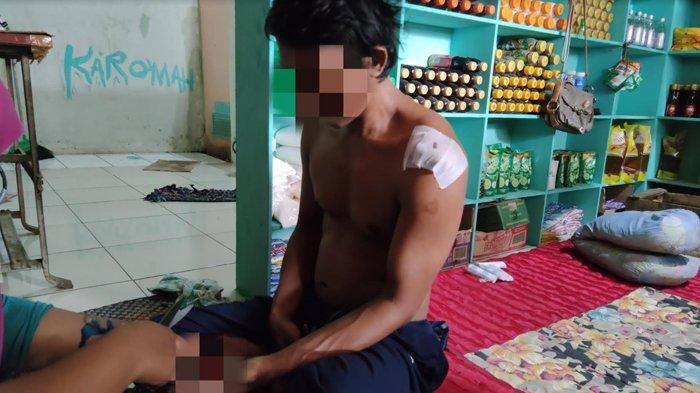 Pemilik Warung Tangan Kosong Hadapi Bandit Bercelurit, Kabur Lihat Istrinya Bawa Ini