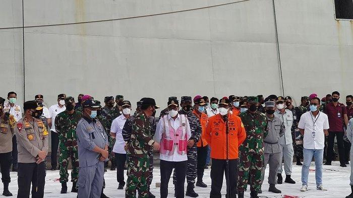 Titik Jatuh Pesawat Sriwijaya Air SJ-182 Berhasil Ditemukan