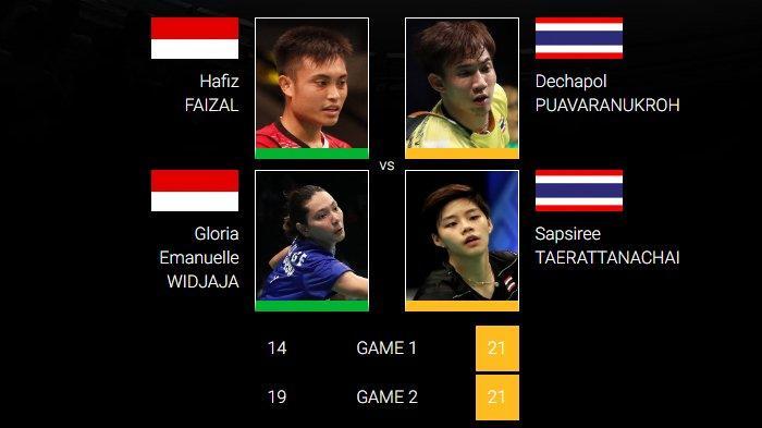 Hafiz/Gloria Susul Fitriani Angkat Koper dari China Open 2019