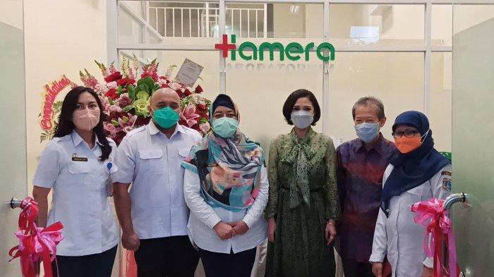 Maksimalkan Tracing Covid-19 di DKI, Sudinkes Jakarta Utara Resmikan Hamera Laboratorium