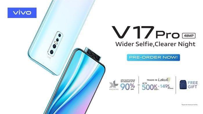 Harga HP Vivo Bulan November 2019: Mulai Rp 3 Juta, Vivo V17 Pro Rp 5,6 Juta