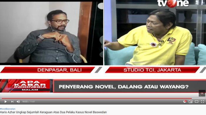 Haris Azhar Ragukan Tersangka Kasus Novel, Hermawan Sulistyo Emosi Bocorkan Ini: Pasti Gak Tahu!