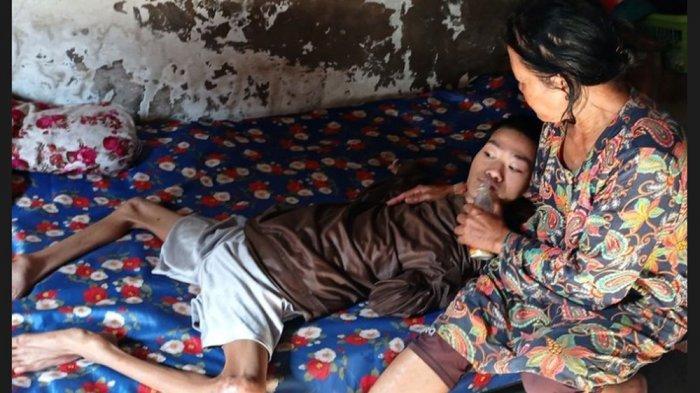 Cerita Hartono 35 Tahun Terbaring di Ranjang, Bermula dari Demam dan Kejang-kejang saat Usia 2 Bulan