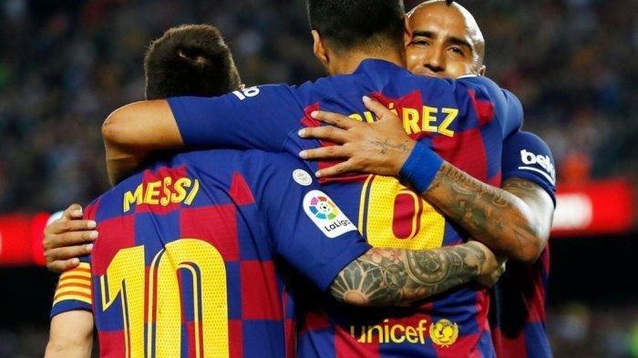 Drama 4 Gol Barcelona vs Atletico Madrid: Tiga Penalti, Diego Costa Cetak Gol Bunuh Diri