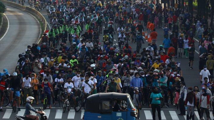 PSBB Masa Transisi Diperpanjang, CFD di Jakarta Ditiadakan