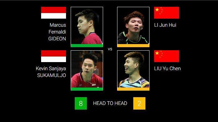 Semifinal Indonesia Open: Ahsan/Hendra Lawan Penakluk Fajar/Rian, Marcus/Kevin Vs Duo Menara