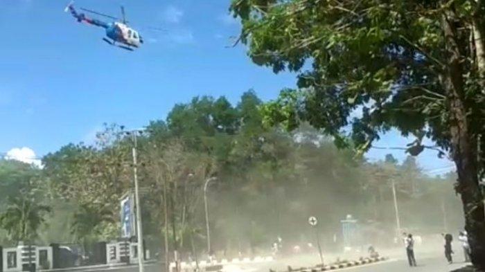 Aksi Mahasiswa di Kendari Dibubarkan Helikopter Polisi, Kapolri Ngamuk: Kalau Bisa Saya Tempeleng!
