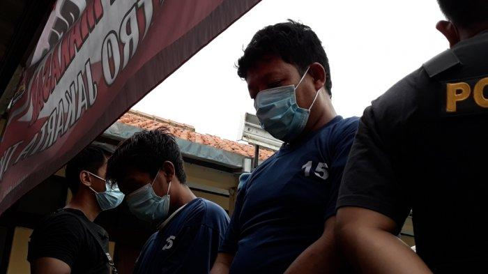Pelaku utama pembunuhan Hilda Hidayah, Hendra Supriyatna alias Indra (38) saat diamankan di Mapolsek Makasar, Jakarta Timur, Rabu (16/12/2020).