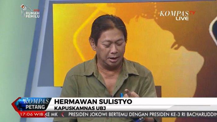 Sebut Penembakan di Kerusuhan 22 Mei Bukan Polisi, Hermawan Sulistyo Beberkan Analisisnya