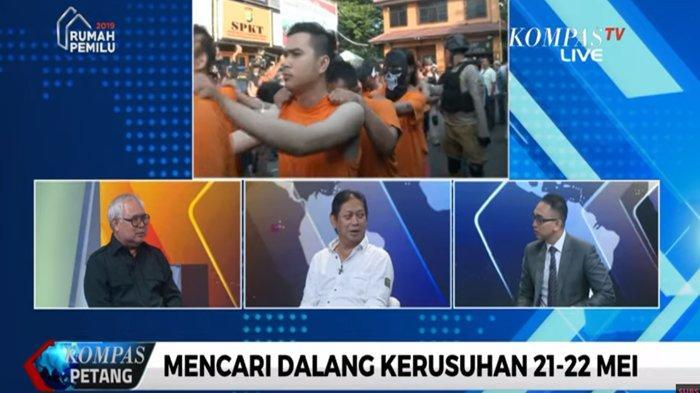 Bongkar Ajakan 'Silaturahmi' ke Rumah Luhut hingga Adian, Hermawan Sulistyo: Bawa Mercon Diberi Paku