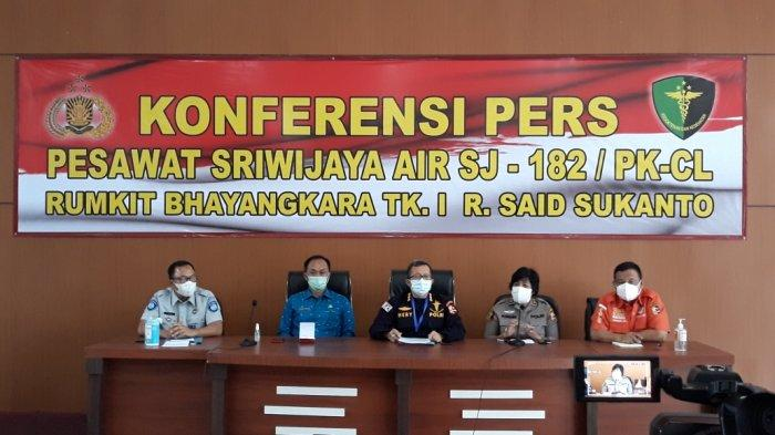 Penjelasan Tim DVI Bila Ada Jenazah Korban Sriwijaya Air yang Tak Teridentifikasi