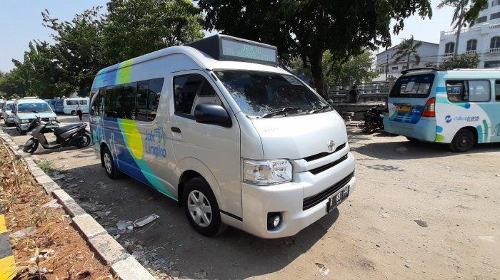 Uji Coba Toyota Hiace Jadi Angkutan Kota di Jakarta,Begini Penampakannya