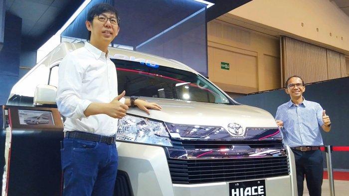 Kejar Pasar Premium, Toyota Rilis HiAce Premio di GIIAS 2019