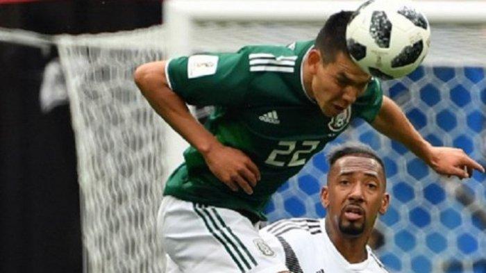 Jerman Akhirnya Takluk 0-1 Lawan Meksiko di Piala Dunia 2018