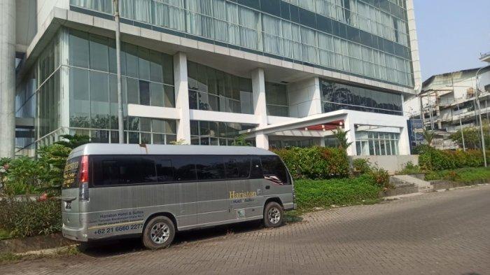 Suasana di Hotel Hariston, Pejagalan, Penjaringan, Jakarta Utara, Minggu (25/4/2021).