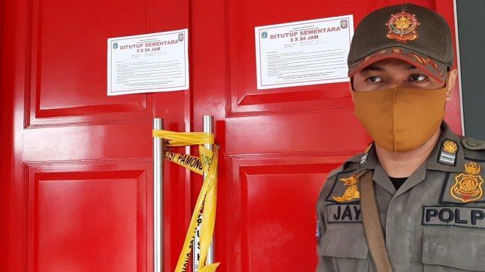 Langgar PPKM, Diskotek di Tebet Jaksel Disegel dan Ditutup 3x24 Jam