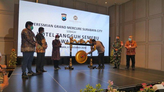 Polda Jawa Timur Resmikan Grand Mercure Surabaya Sebagai Hotel Tangguh Semeru