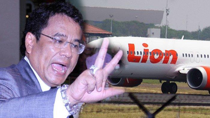 Lion Air PK-LPQ Jatuh, Hotman Paris Pertanyakan Keberadaan Keluarga Pemilik Maskapai