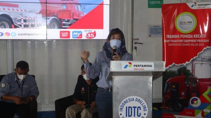 Pertamina Drilling Services Indonesia Berikan Training Pemuda Kreatif HTE di Indramayu