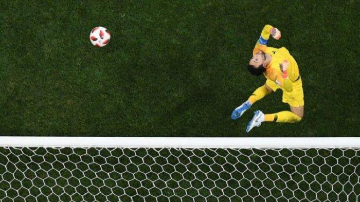 Manfaatkan Blunder Lloris, Kroasia Perkecil Kedudukan 2-4