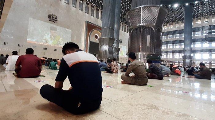 BREAKING NEWS Kabar Gembira, Akhirnya Masjid Istiqlal Gelar Jumatan setelah Setahun Pandemi Covid-19