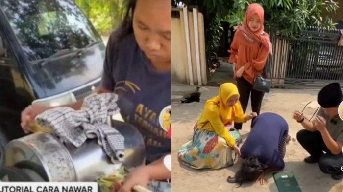 The Power of Netizen Indonesia, Ibu Penjual Es Tebu yang Viral Kini Sujud Syukur Dapat Hadiah Rumah