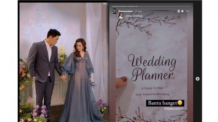 Pamer Buku Wedding Planner Bareng Citra Monica, Ifan Seventeen Segera Lepas Status Duda?