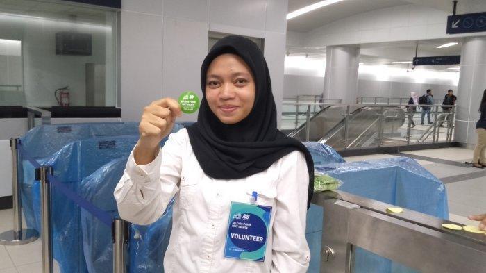 Ada Empat Warna, Penumpang Uji Coba MRT Wajib Pakai Stiker Khusus, Satu Warna Berlaku Selama Dua Jam