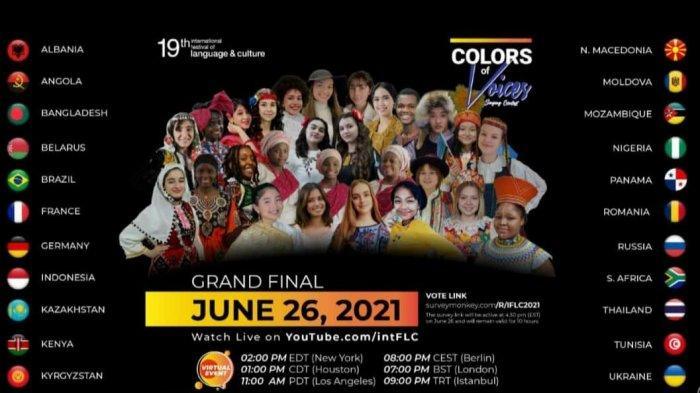 Dukung Siswi Indonesia di Kompetisi Internasional IFLC, Bersaing dengan Peserta dari 24 Negara