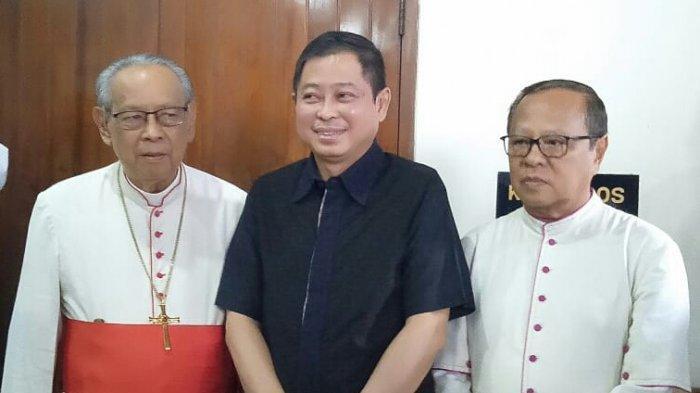 Menteri Jonan Berterimakasih TNI/Polri dan Banser Jaga Misa Jumat Agung di Katedral Jakarta