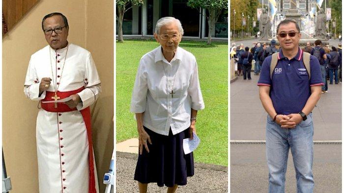 Seorang Kardinal, 17 Uskup dan Seribu Pastur Ikut Event Lari Demi Guru Honorer di Pelosok Indonesia