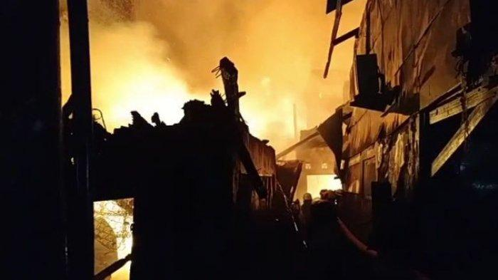Breaking News Kebakaran di Matraman Jakarta Timur, 10 Orang Tewas