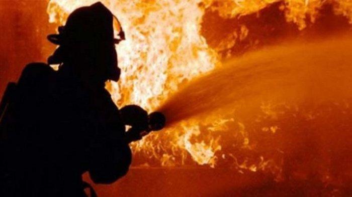 Kebakaran di Dekat Markas FPI Diduga karena Korsleting Listrik