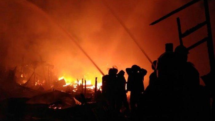 Satu Rumah di Kemayoran Terbakar Akibat Penghuni Bakar Sampah Sembarangan