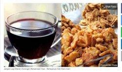 Bahaya Bagi Kesehatan! Hindari Makan Gorengan Bersamaan dengan Kopi