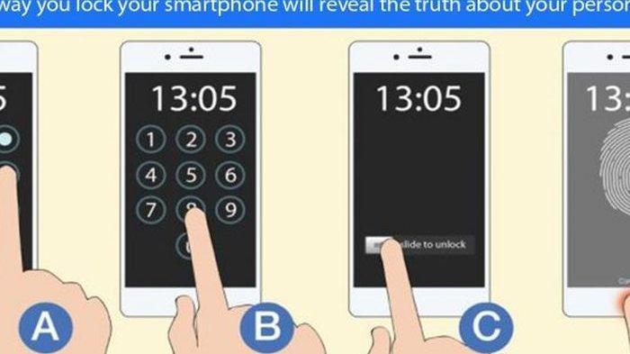 Cara Mengunci Ponsel Ternyata Ungkap Kepribadian Seseorang, Ini Penjelasannya