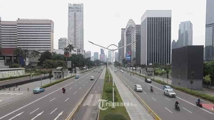 Ilustrasi perkantoran di DKI Jakarta.