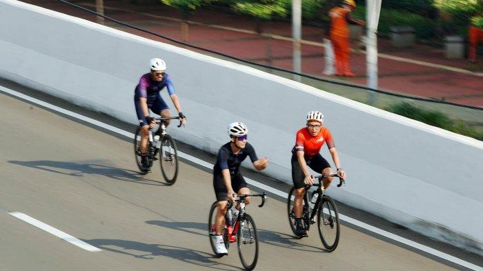 Kasus Covid-19 di Jakarta Catat Rekor Lagi, Anak Buah Anies Tiadakan Uji Coba Road Bike di JLNT
