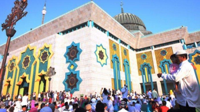 Gelar Salat Idulfitri 1442 Hijriah, Masjid Raya JIC Batasi Kapasitas 50 Persen