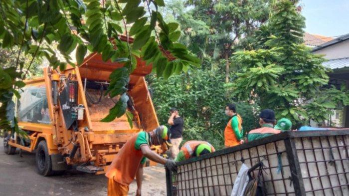 Sudin Lingkungan Hidup Jakarta Pusat Angkut 22.665 Ton Sampah Selama Ramadan
